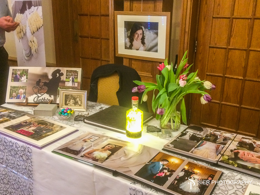 Kenwood Hall Hotel Sheffield spring wedding fayre in 2017
