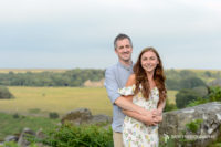 Engagement photography at the Surprise View in Derbyshire