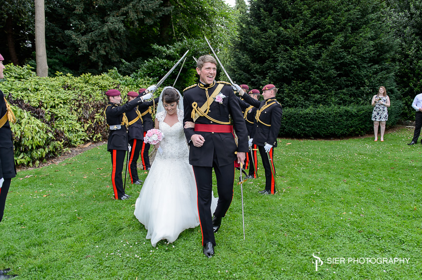 Kenwood Hall Sheffield military wedding