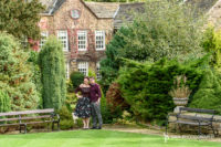 Engagement photography session at the beautiful Whitley Hall Hotel in Sheffield